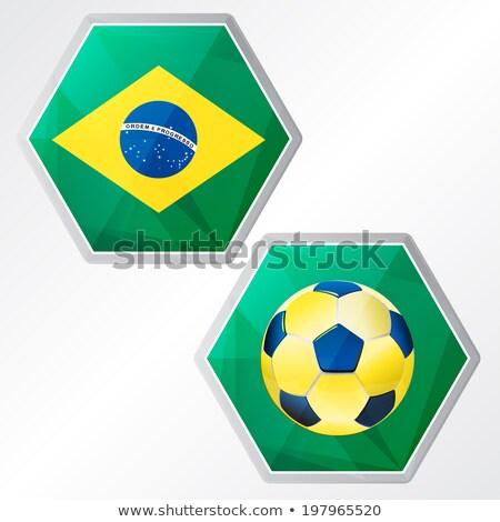フラグ · サッカー · 会議 · スポーツ · 夏 - ストックフォト © marinini