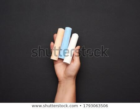 Three colorful pieces of chalk Stock photo © ShawnHempel