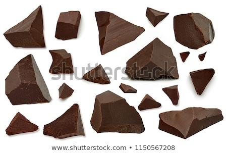çikolata · yalıtılmış · beyaz · şeker - stok fotoğraf © diabluses