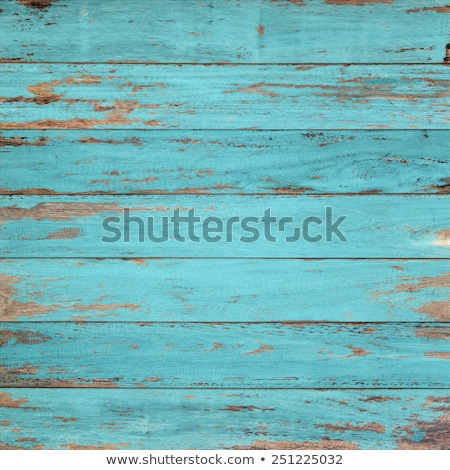 Old blue painted wood wall  Stock photo © meinzahn