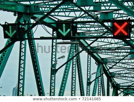 Errado transformar ponte desenho animado carros cair Foto stock © blamb