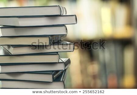 Boglya hasonló könyvek könyv háttér oktatás Stock fotó © Valeriy