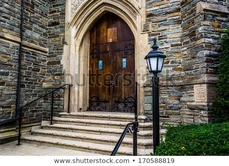 Steps to the Church Stock photo © JFJacobsz