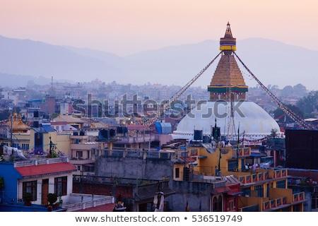 Cidade Nepal edifício viajar edifícios Foto stock © dutourdumonde