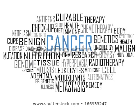 Cancer word cloud Stock photo © tang90246