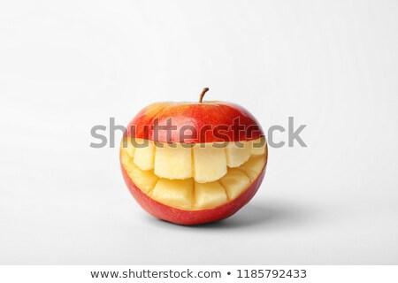 dente · saúde · comida · alimentação · doce · raio - foto stock © lightsource