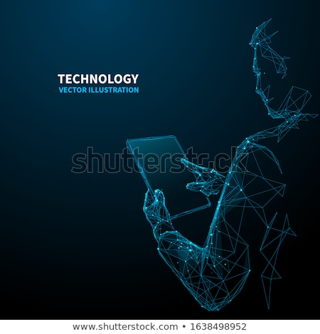 3D computer, digital Tablet pc stock photo © daboost