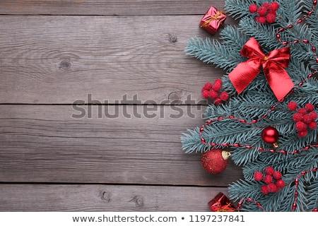 drewno · opałowe · zimą · drewna · śniegu - zdjęcia stock © valeriy