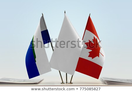 Canada and Navassa Island Flags  Stock photo © Istanbul2009
