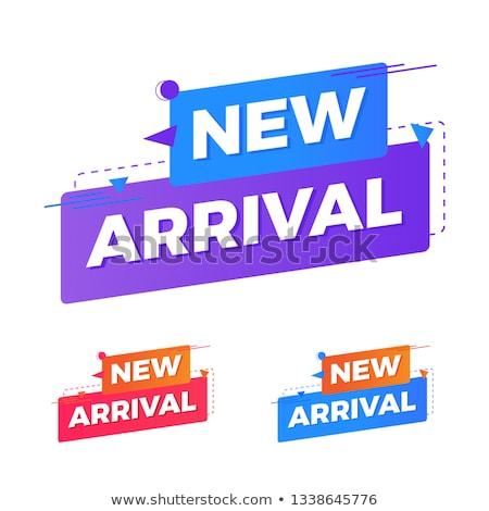 New Arrival Violet Vector Icon Design Stock photo © rizwanali3d