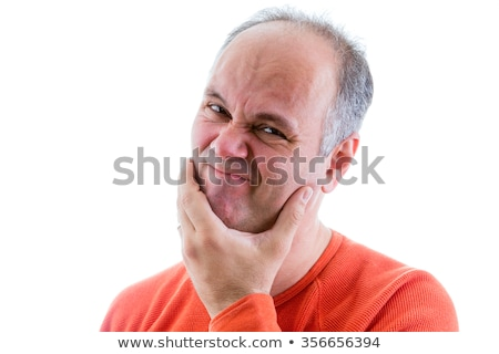 Man feeling ashamed and sorry for something Stock photo © ozgur