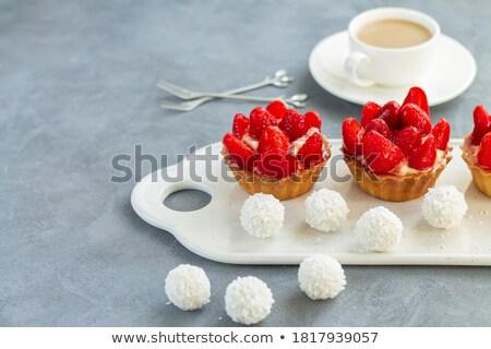Mini tartlets Stock photo © Digifoodstock