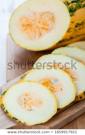 Melancia seção transversal fatia rústico tabela topo Foto stock © stevanovicigor