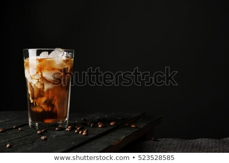 Iced coffee on wooden table Stock photo © mady70