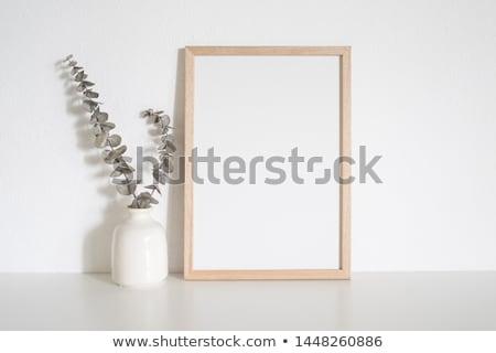 üres · papír · sütik · házi · készítésű · chip · fa · asztal · papír - stock fotó © adam121