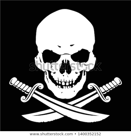 pirate skull flag symbol Stock photo © romvo