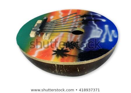 Thumb piano spiritual instruments stock photo © berczy04