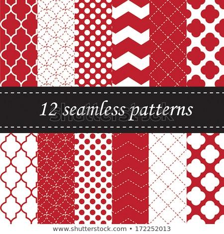 Christmas Repeating Pattern. EPS 10 Stock photo © beholdereye