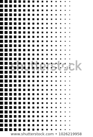 Abstract monochrome halftone. EPS 10 Stock photo © beholdereye