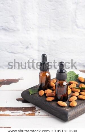 Bad · Kokosmilch · Handtuch · weiß · spa - stock foto © joannawnuk