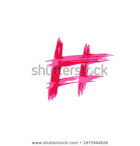 social media icon logos watercolor ink brush style stock photo © krisdog