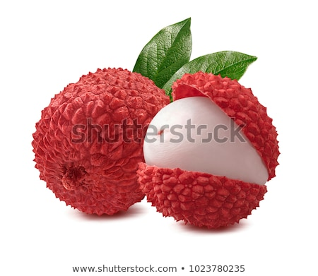 Blanche isolé réaliste illustration fruits cuisine Photo stock © ConceptCafe