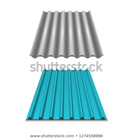 shining metal roofing sheets Stock photo © ssuaphoto