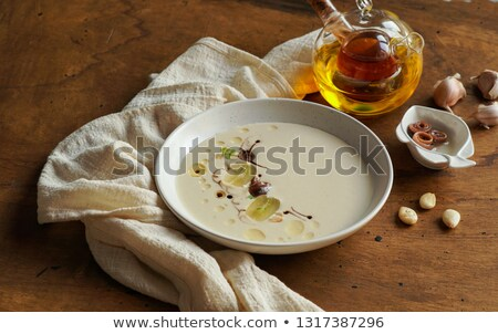 Ajo Blanco- White Garlic Soup stock photo © monkey_business