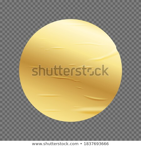 Golden yellow glued poster paper background Stock photo © stevanovicigor