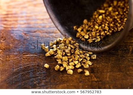 Mining Gold Nuggets Stock photo © idesign