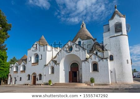 Stockfoto: Stad · kerk · mijlpaal · architectuur