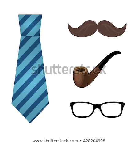 Spectacles Flat Vector Icon Stock photo © ahasoft