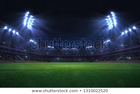 Digital image of stadium Stock photo © wavebreak_media