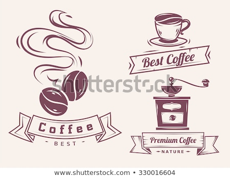 Photo stock: Vecteur · café · moulin · café