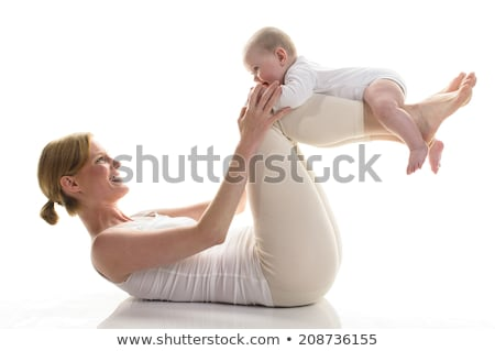 Two young mothers with their babies Stock photo © IS2
