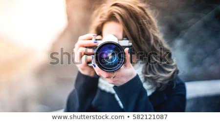 amatoriale · fotografo · snapshot · foto · giovani - foto d'archivio © 2design