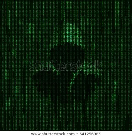 Oscuro web anónimo acceso sitio web tecnología Foto stock © Lightsource