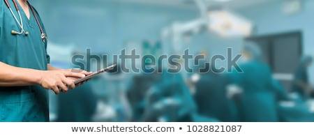 хирурги контроля операция комнату больницу Сток-фото © wavebreak_media