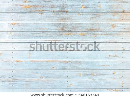 текстуры · старые · грубо · синий · забор · стены - Сток-фото © virgin