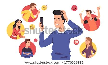 Social Bullying Stock photo © Lightsource