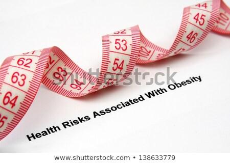 Egészségtelen diéta egészség kockázat szegény táplálkozás Stock fotó © Lightsource