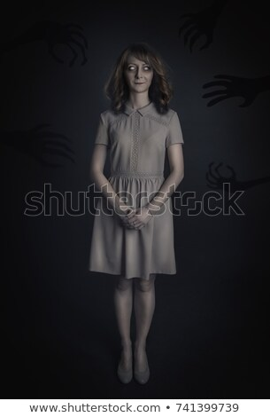 Creepy zombie woman scene Stock photo © bluering