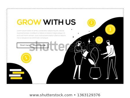 チームワーク · デザイン · スタイル · カラフル · 実例 · 白 - ストックフォト © decorwithme