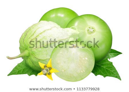 Tomatillos (Physalis philadelphica), paths Stock photo © maxsol7