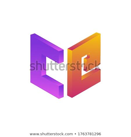 буква С логотип икона символ дизайна Сток-фото © blaskorizov