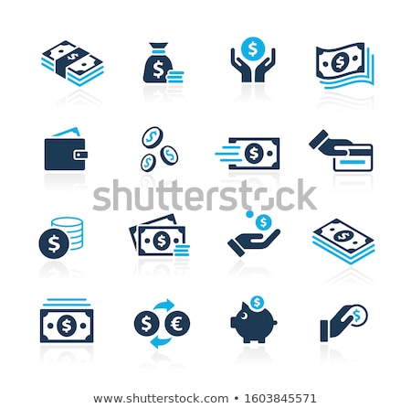Set of finance, money and bank icons in vector Stock photo © robuart