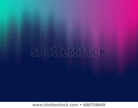Wibrujący półtonów wzór projektu streszczenie tle Zdjęcia stock © SArts