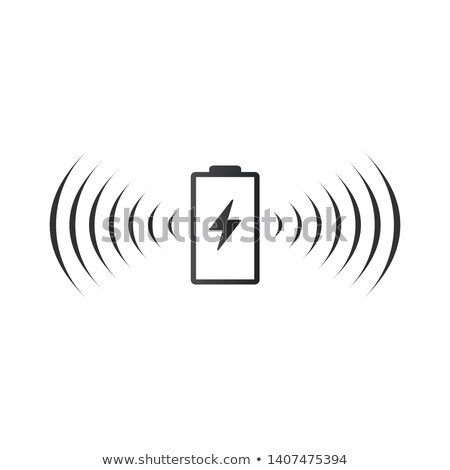 Wireless battery charging icon. Can be used on web apps, mobile apps and print media. vector illustr Stock photo © kyryloff