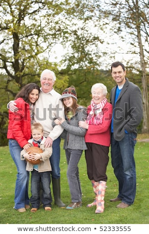 familie · platteland · glimlach · man · kind - stockfoto © monkey_business