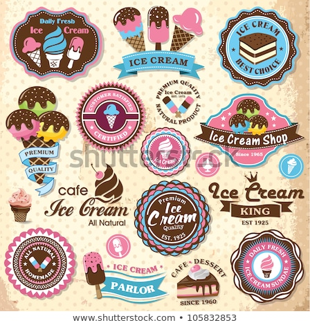 Ice Cream Business, Shop with Frozen Dessert Meal Stock photo © robuart